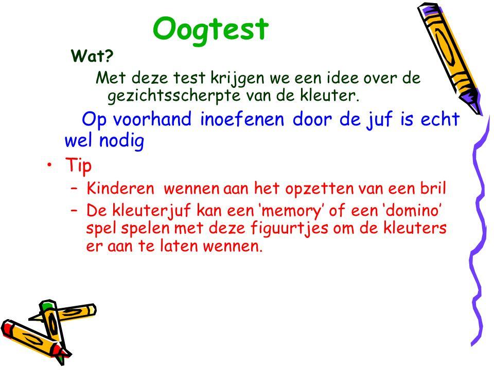 Oogtest (logmar test )