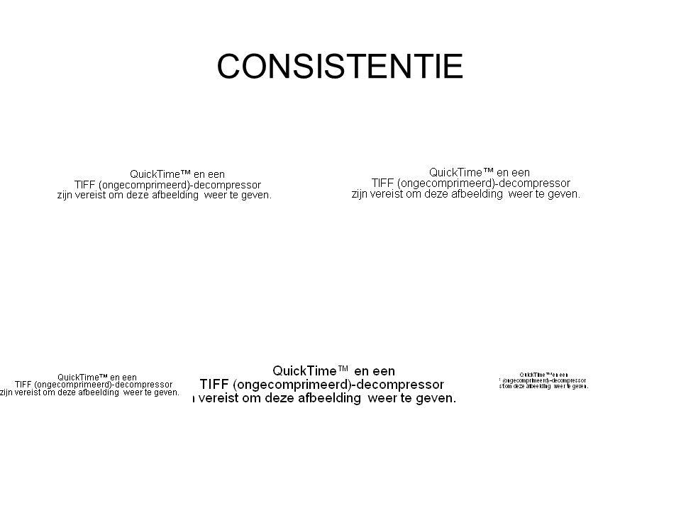 CONSISTENTIE