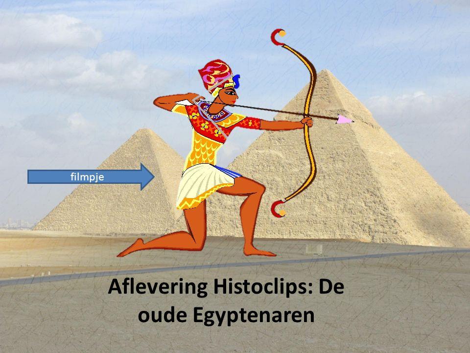 Aflevering Histoclips: De oude Egyptenaren filmpje