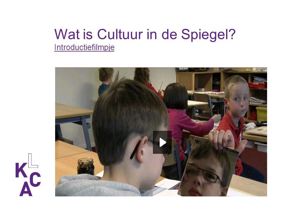 Wat is Cultuur in de Spiegel? Introductiefilmpje Introductiefilmpje
