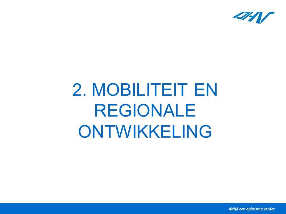 2. MOBILITEIT EN REGIONALE ONTWIKKELING