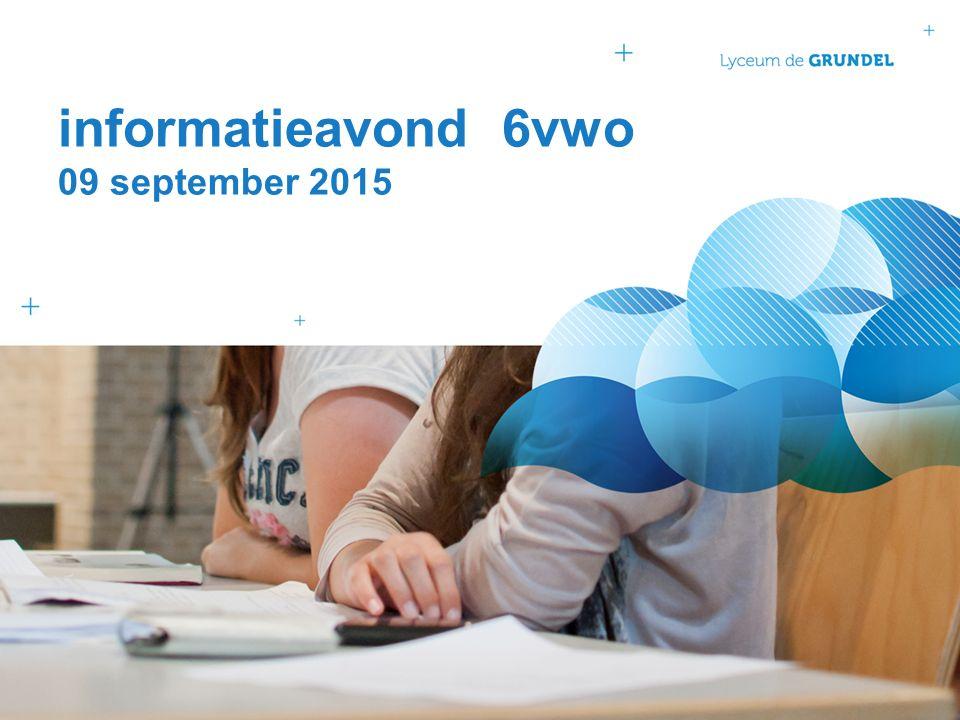 programma Onderwijs en Organisatie Studie- en beroepskeuze Kennismaken met de mentor Buitenlandse excursies