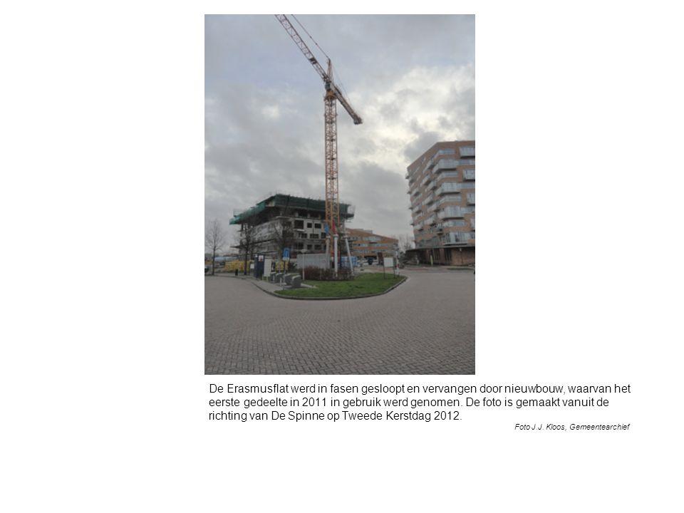 De Erasmusflat werd in fasen gesloopt en vervangen door nieuwbouw, waarvan het eerste gedeelte in 2011 in gebruik werd genomen.