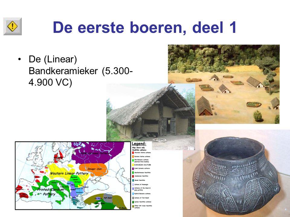 De eerste boeren, deel 1 De (Linear) Bandkeramieker (5.300- 4.900 VC)
