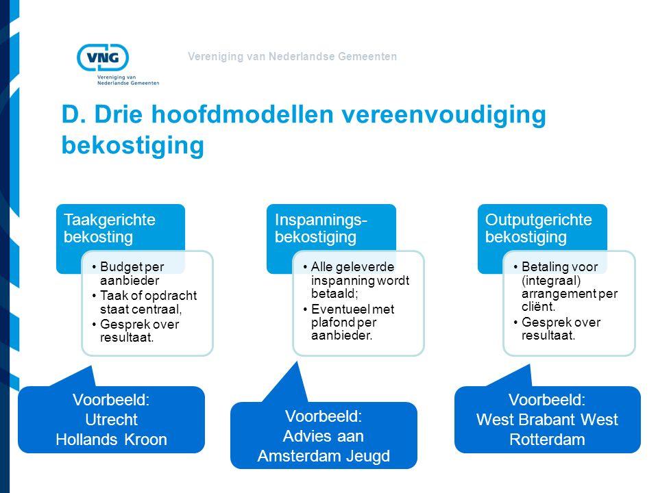 Vereniging van Nederlandse Gemeenten D.