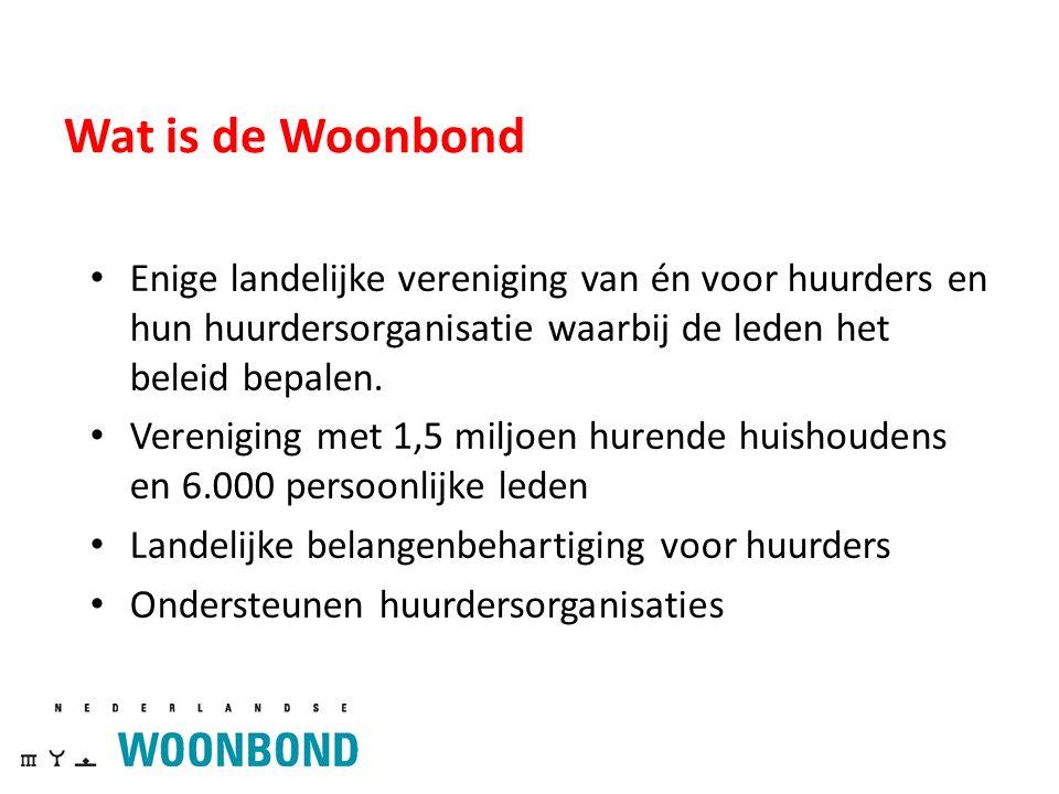 Voorbeeld Corporatie Goed Wonen met 30 identieke woningen Huursom € 6000 + € 5000 + €4000 = € 15000 25 2017: Max.