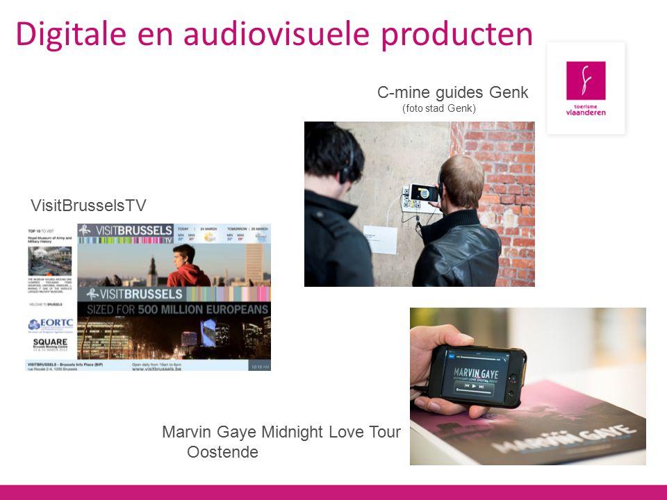 Marvin Gaye Midnight Love Tour Oostende Digitale en audiovisuele producten C-mine guides Genk (foto stad Genk) VisitBrusselsTV