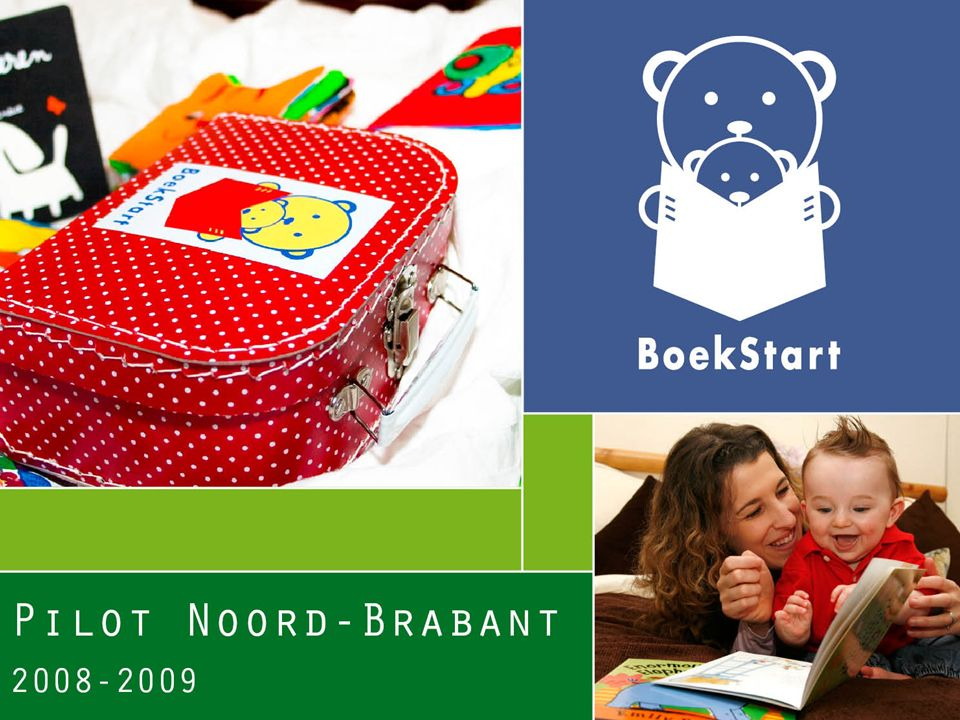 Korte systematische terugblik Project Interne bedrijfsvoering Scholing en opleiding Materialen Collectie Communicatie Financiën Conclusies Boekstart in Noord-Brabant