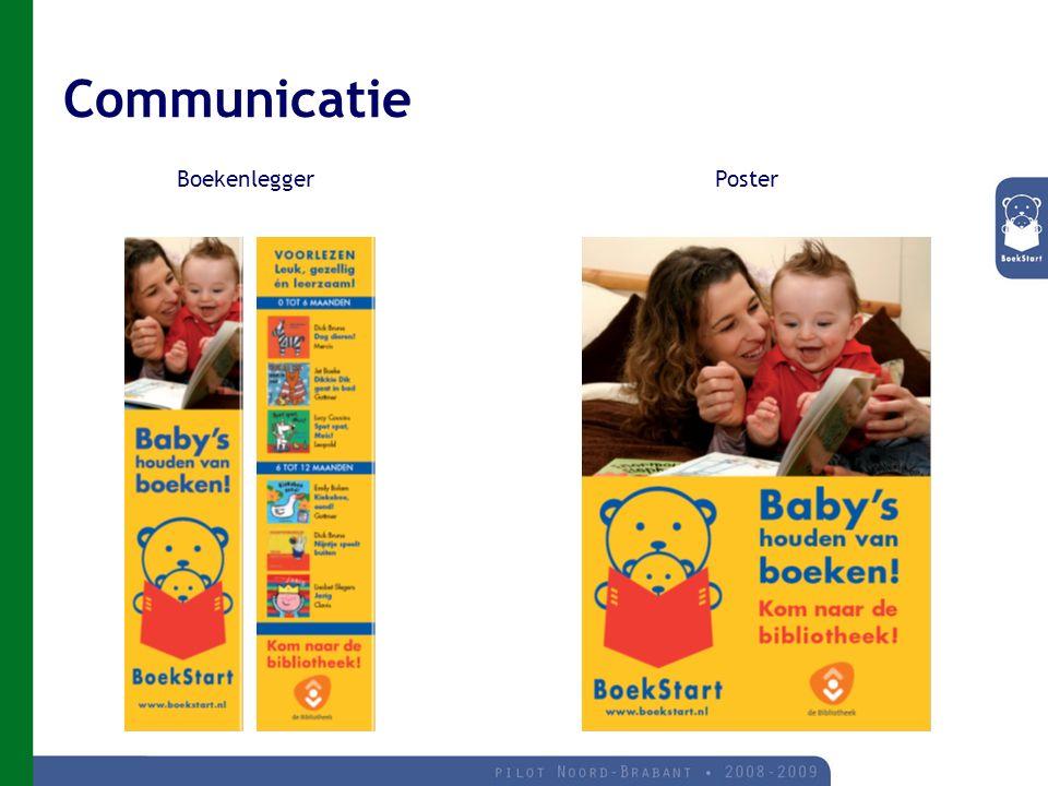 Communicatie Boekenlegger Poster