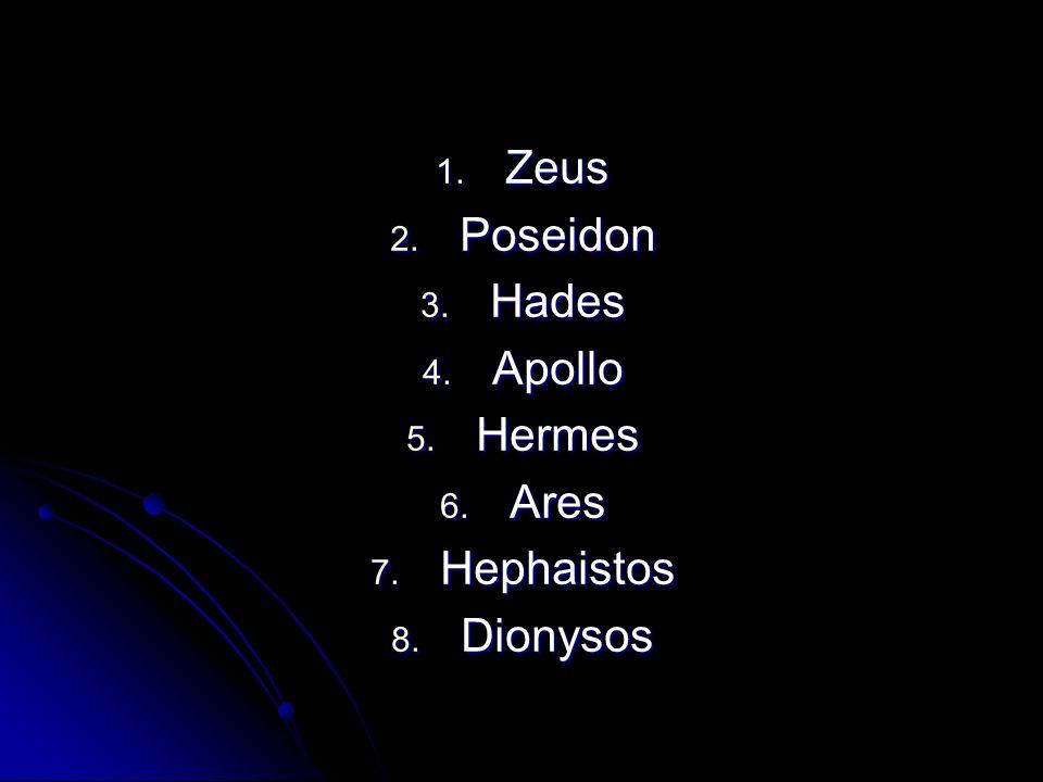 1.Zeus 1. Zeus God van de hemel én de aarde.