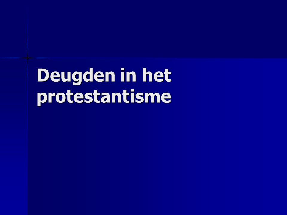 Deugden in het protestantisme