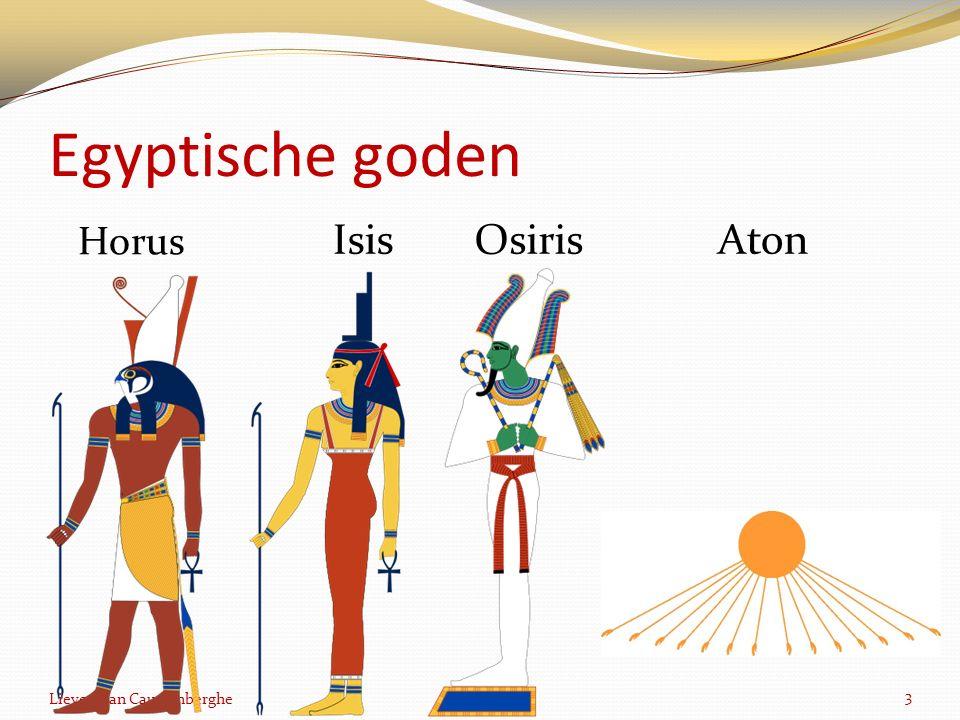 Egyptische goden Horus 3 IsisOsirisAton Lieven Van Cauwenberghe