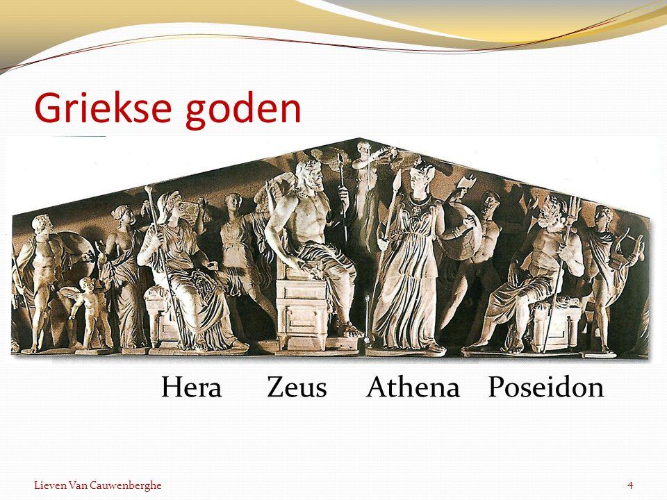 Griekse goden 4 Lieven Van Cauwenberghe ZeusAthenaPoseidonHera
