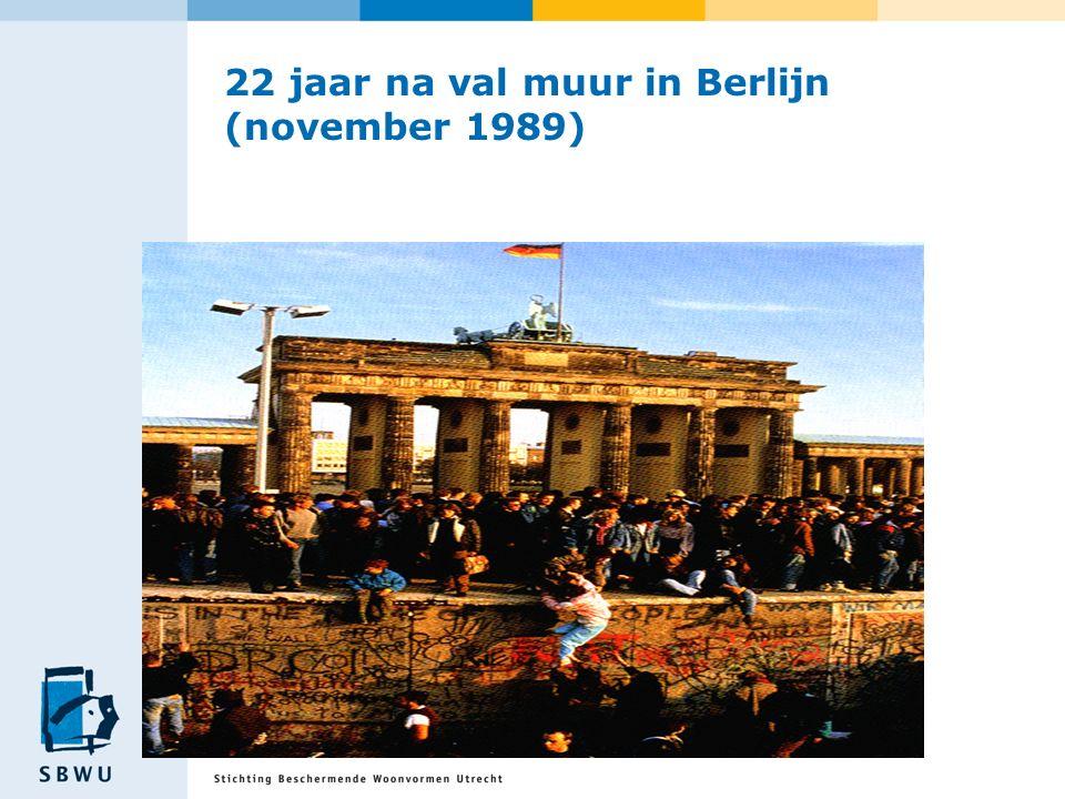 22 jaar na val muur in Berlijn (november 1989)