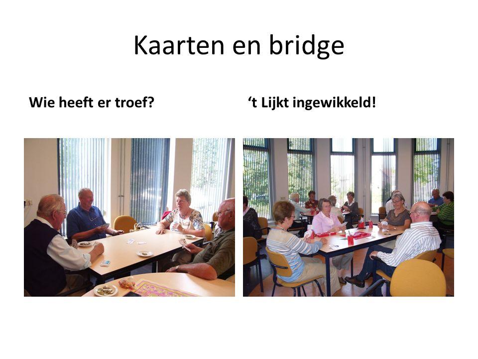 Kaarten en bridge Wie heeft er troef?'t Lijkt ingewikkeld!