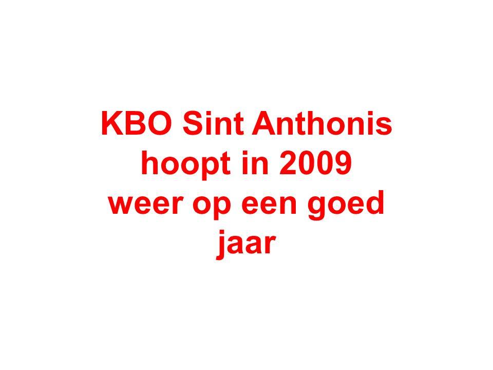 KBO Sint Anthonis hoopt in 2009 weer op een goed jaar