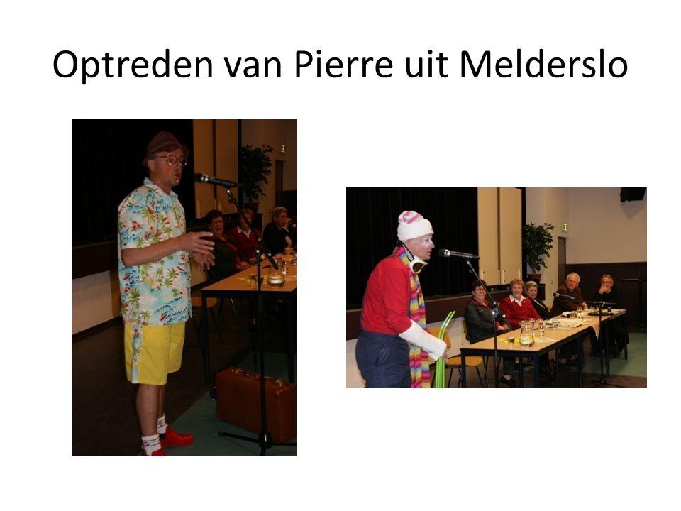Optreden van Pierre uit Melderslo