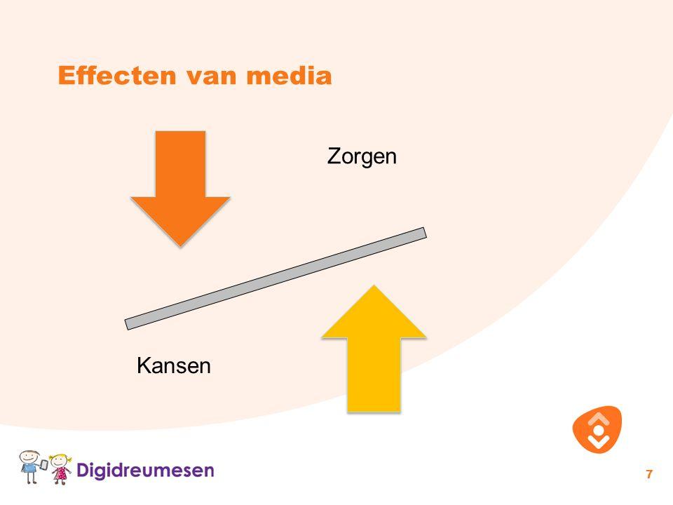 Effecten van media 7 Zorgen Kansen