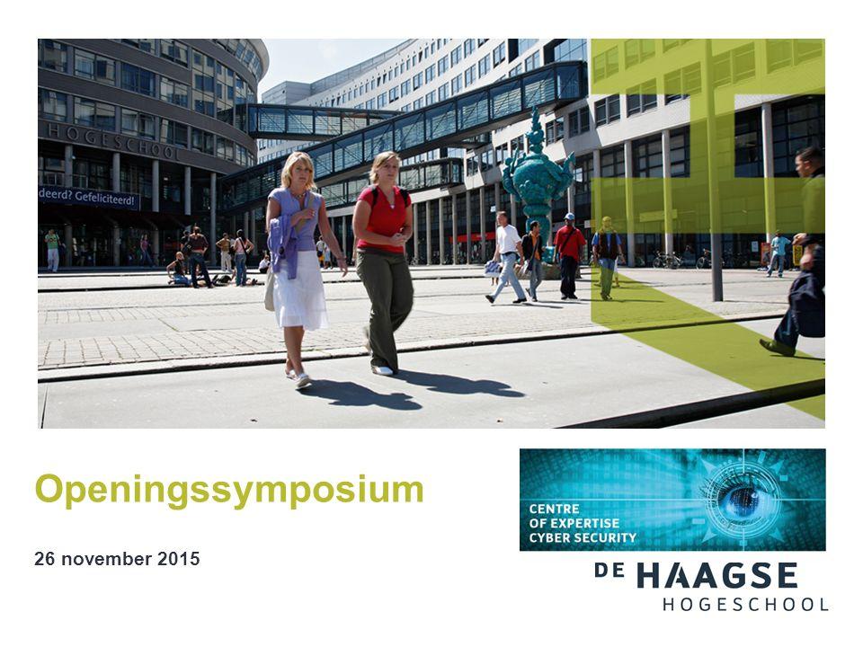 Openingssymposium 26 november 2015
