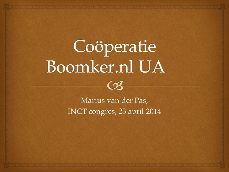 Marius van der Pas, INCT congres, 23 april 2014