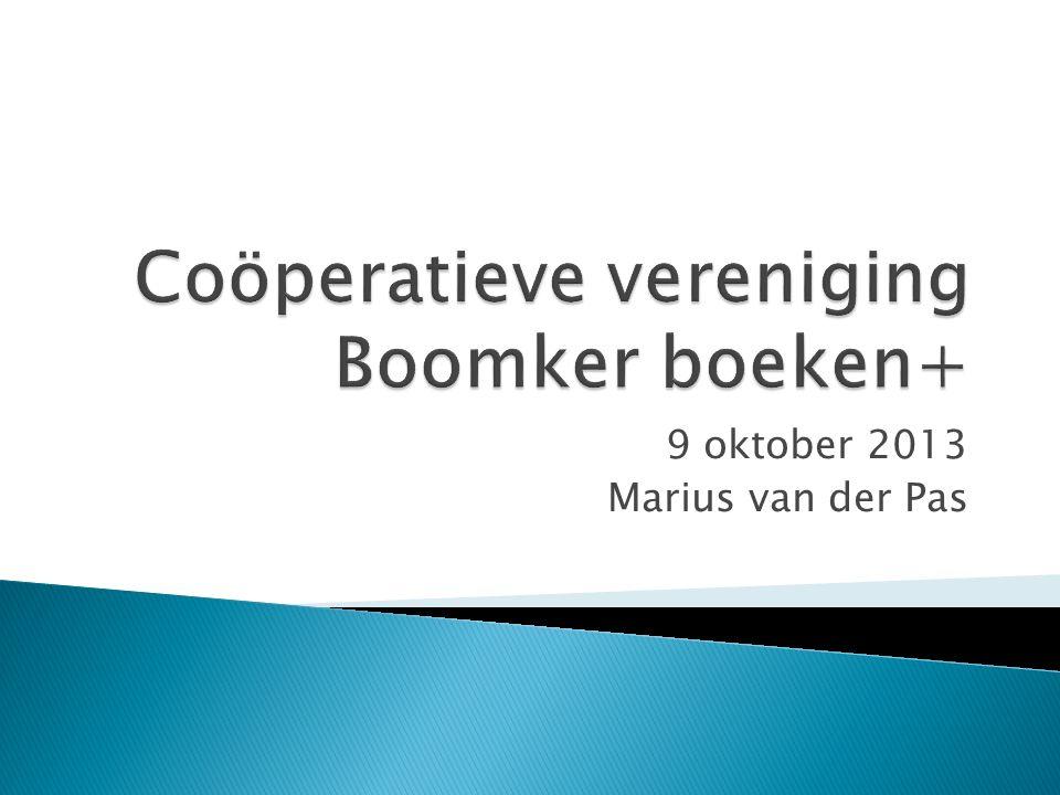 9 oktober 2013 Marius van der Pas