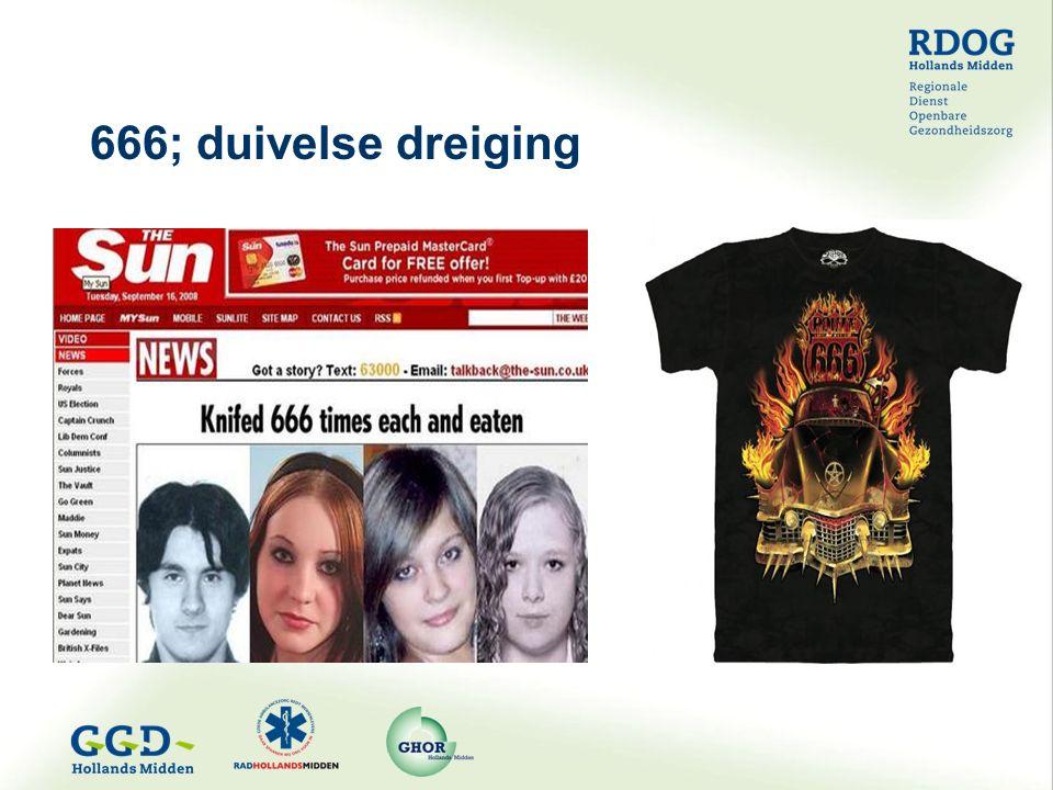 666; duivelse dreiging