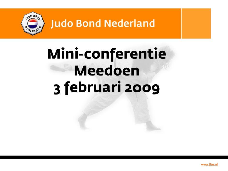 www.jbn.nl Mini-conferentie Meedoen 3 februari 2009