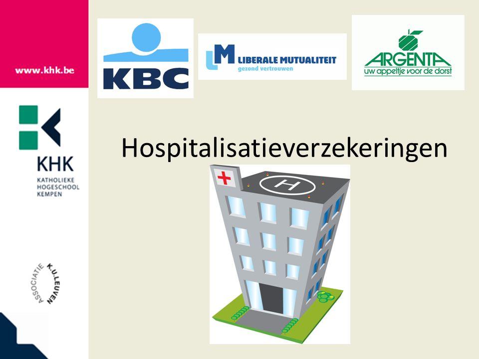 Hospitalisatieverzekeringen