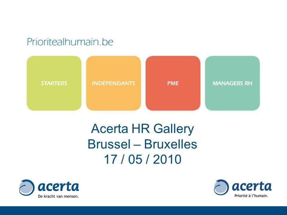 Acerta HR Gallery Brussel – Bruxelles 17 / 05 / 2010