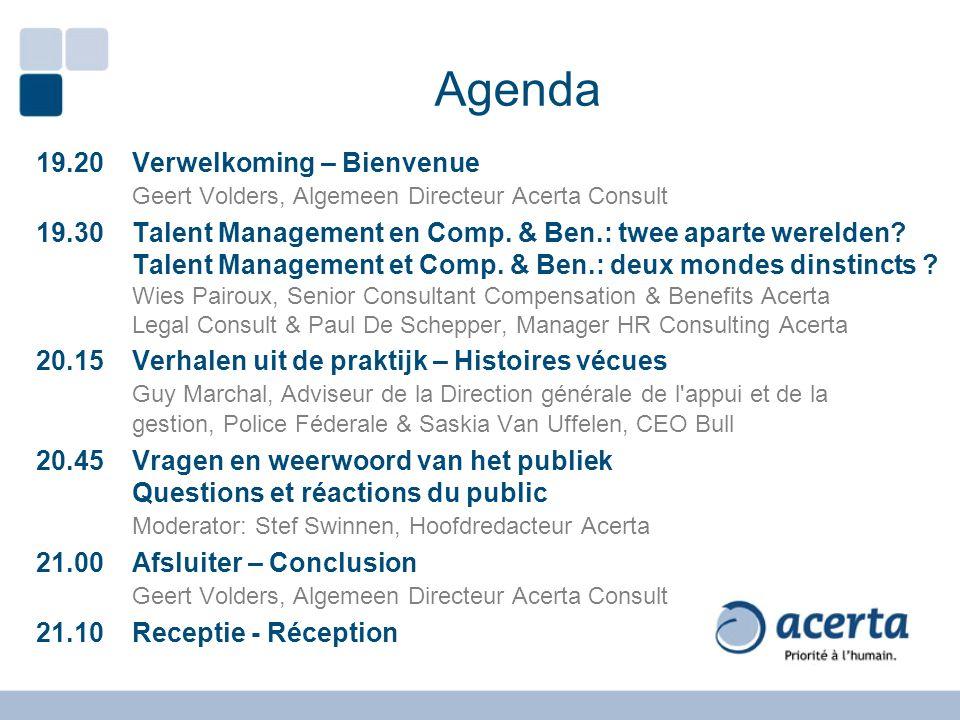 Comp & Ben en Talentmanagement Evolutie en trends… - 2010 - New C&B - 2030 - Futur C&B - 1980 - Compententie - 2010 - New Talent COMP & BEN TALENTMANAGEMENT - 2010 - New C&B - 2030 - Futur C&B - 2010 - New C&B - 1980 - Compententie - 2010 - New Talent - 1980 - Compententie - 2010 - New Talent - 1980 - Compententie - 1995- …comp.mgt - 2008- …tal.mgt.