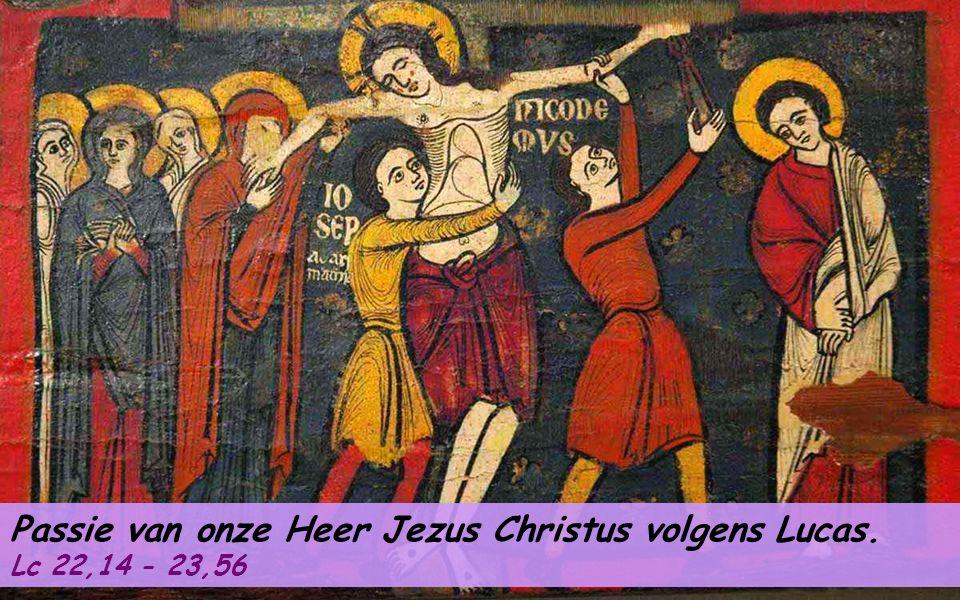 ACCLAMATIE Fil 2,6-11 Christus is voor ons gehoorzaam geworden tot de dood, tot de dood aan een kruis.