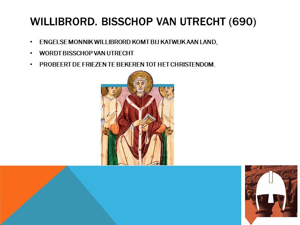 BONIFATIUS.BISSCHOP VAN DUITSLAND (754) FILMPJE. PROBEERDE OOK DE FRIEZEN TE BEKEREN.