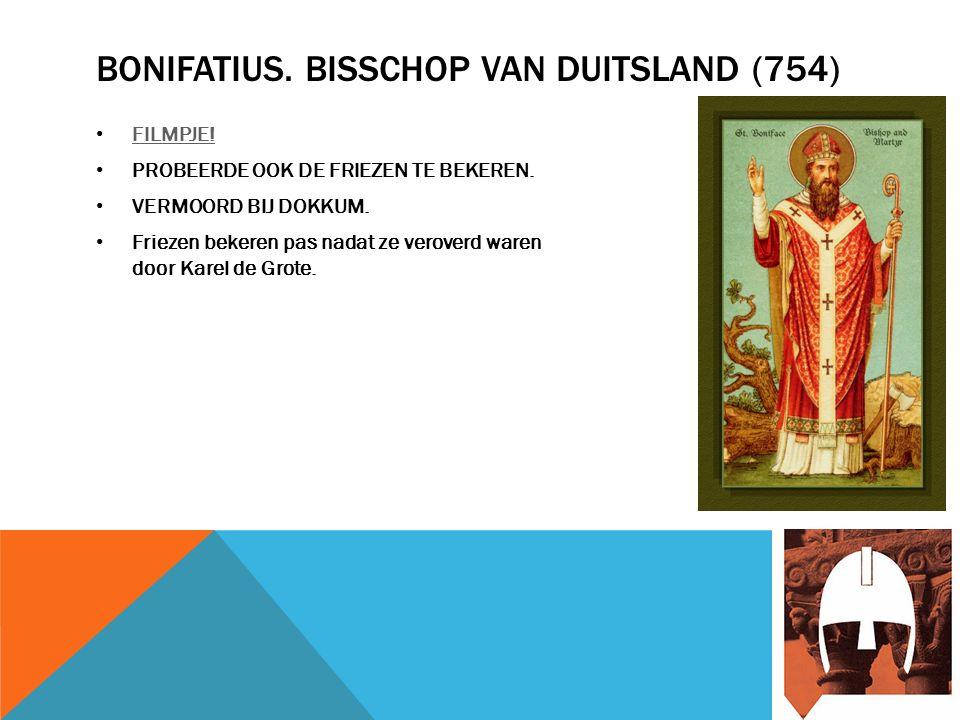 BONIFATIUS. BISSCHOP VAN DUITSLAND (754) FILMPJE.