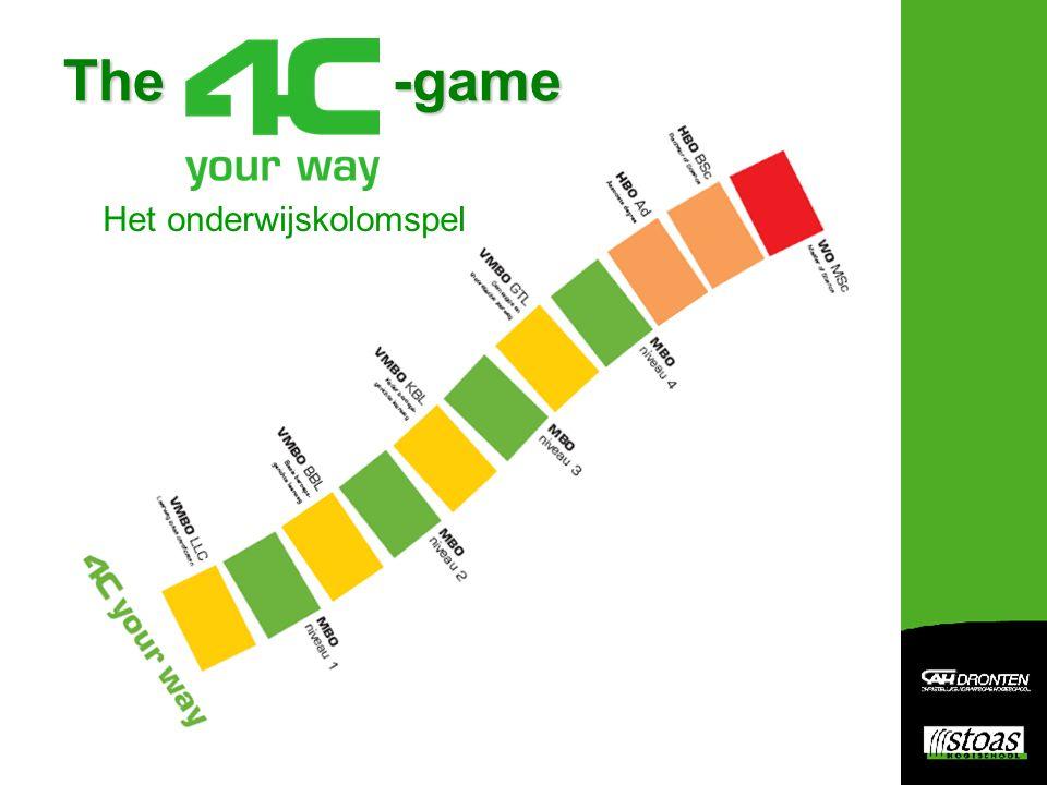 The -game Het onderwijskolomspel