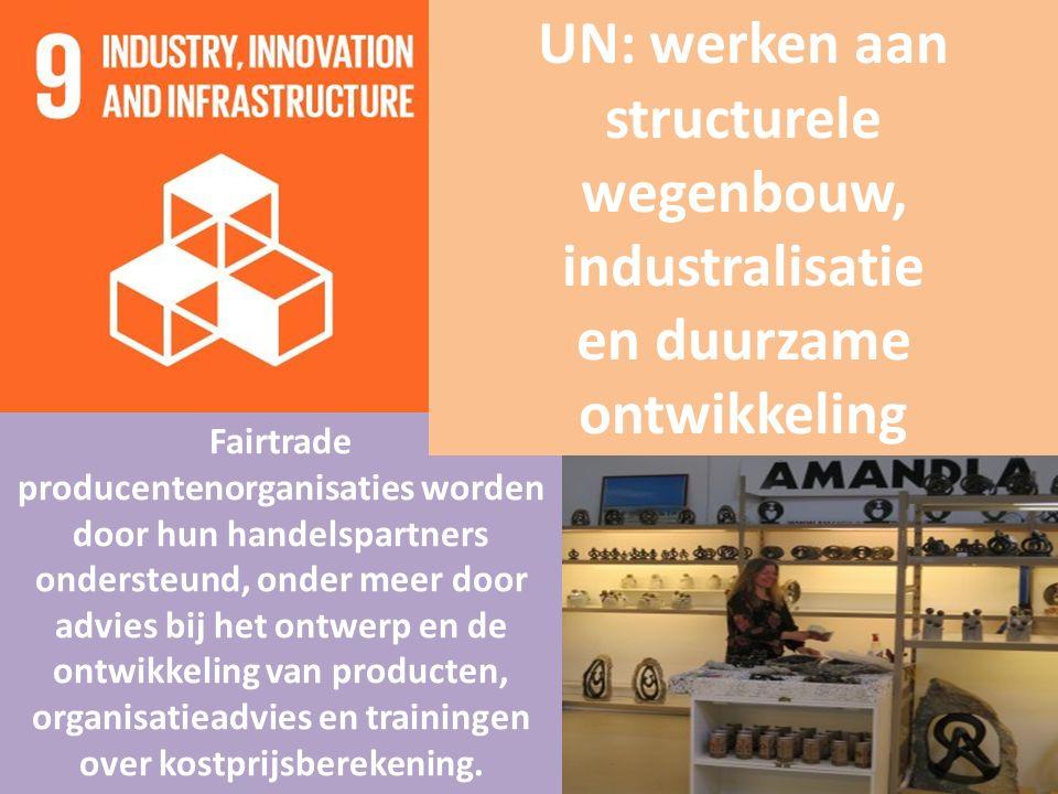 Fairtrade producentenorganisaties worden door hun handelspartners ondersteund, onder meer door advies bij het ontwerp en de ontwikkeling van producten, organisatieadvies en trainingen over kostprijsberekening.