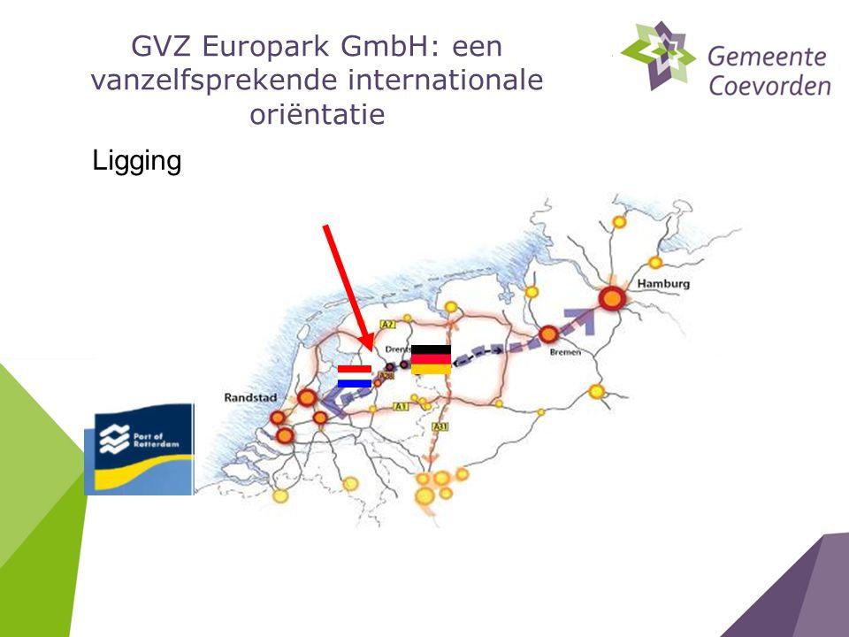 Ligging GVZ Europark GmbH: een vanzelfsprekende internationale oriëntatie