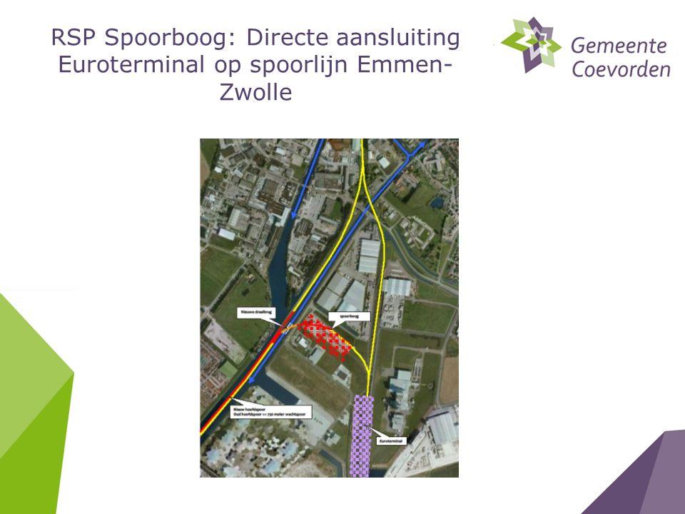 RSP Spoorboog: Directe aansluiting Euroterminal op spoorlijn Emmen- Zwolle
