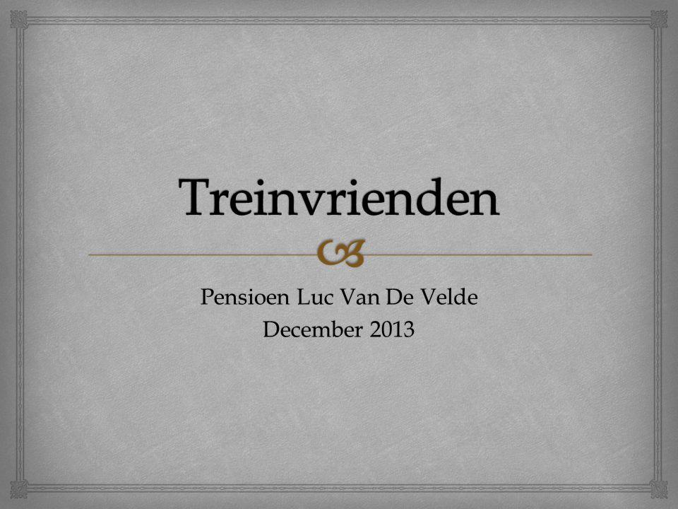 Pensioen Luc Van De Velde December 2013