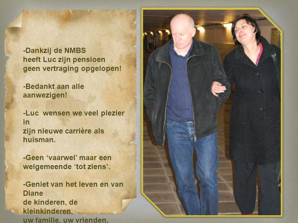-Dankzij de NMBS heeft Luc zijn pensioen geen vertraging opgelopen.