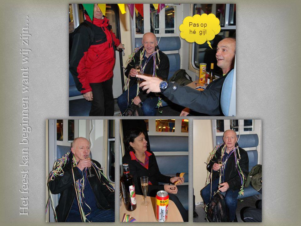 Brussel Centraal: Welkom, welkom… Woar is da feesje? Der en is hier nog geen kloten te doen jong!