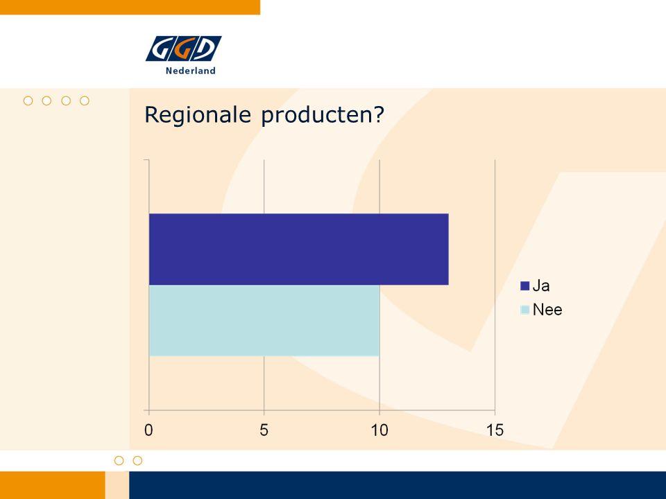 Regionale producten?