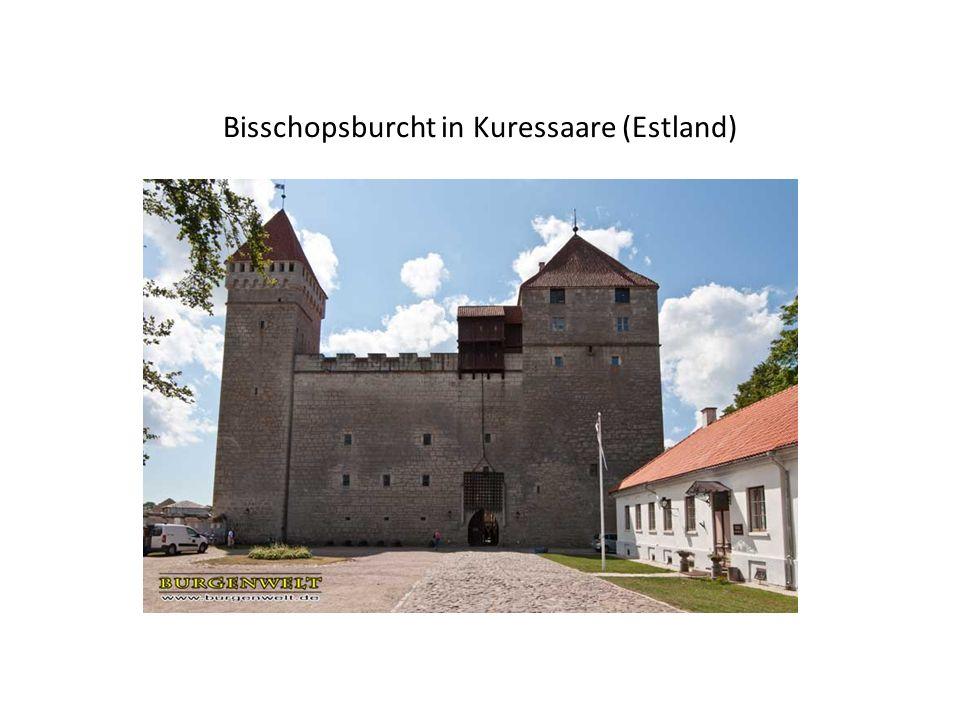 Bisschopsburcht in Kuressaare (Estland)