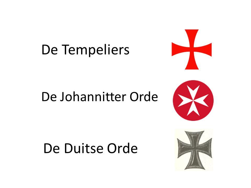 De Johannitter Orde De Tempeliers De Duitse Orde