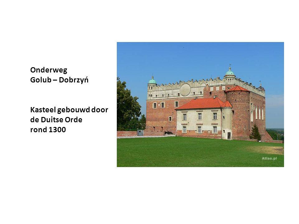 Onderweg Golub – Dobrzyń Kasteel gebouwd door de Duitse Orde rond 1300