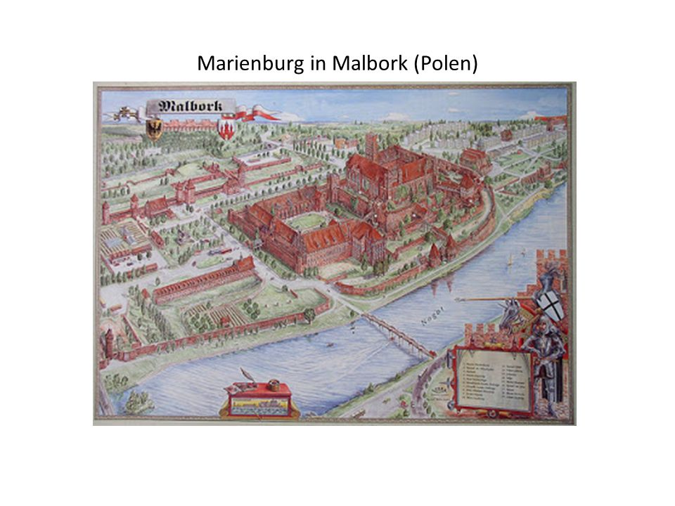 Marienburg in Malbork (Polen)