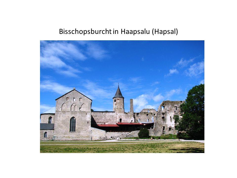 Bisschopsburcht in Haapsalu (Hapsal)