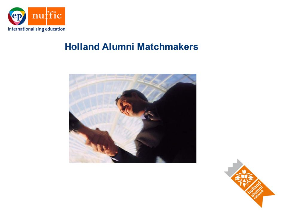 19 Holland Alumni Matchmakers