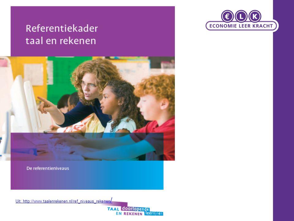 Commissie Meijerink 'Over de drempels met taal en rekenen' mei 2007 werd door staatssecretaris Van Bijsterveldt van OCW de Expertgroep Doorlopende Leerlijnen Taal en Rekenen (ook wel de commissie Meijerink) geïnstalleerd.