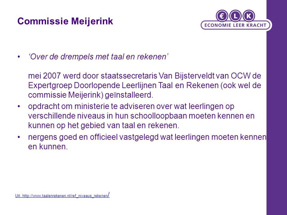 VMBO 2F verplicht voor alle leerlingen 2S mag als streefniveau (bijv bij GT) eindtoets rekenen 2F bij het examen 2014