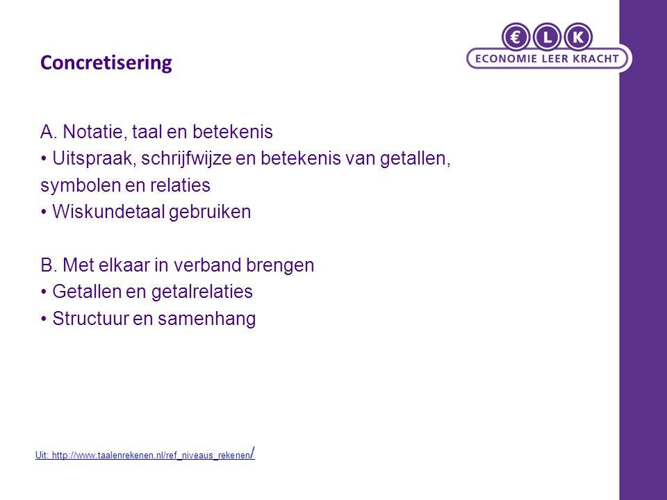 Bronnen en meer info: http://www.taalenrekenen.nl/ref_niveaus_rekenen/ http://www.fi.uu.nl/rekenweb/